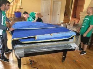 Piano movers in Davis, CA