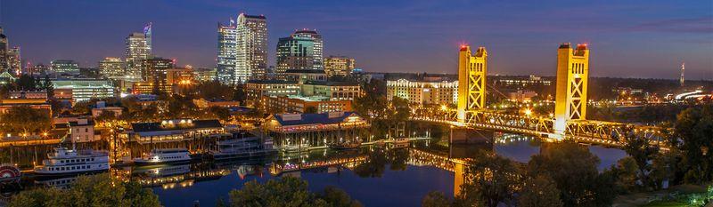 Sacramento night view