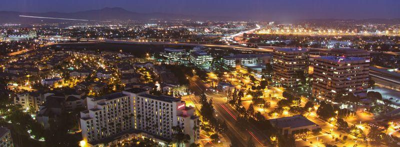 Costa Mesa night view