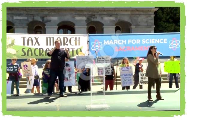 Sacramento Tax March