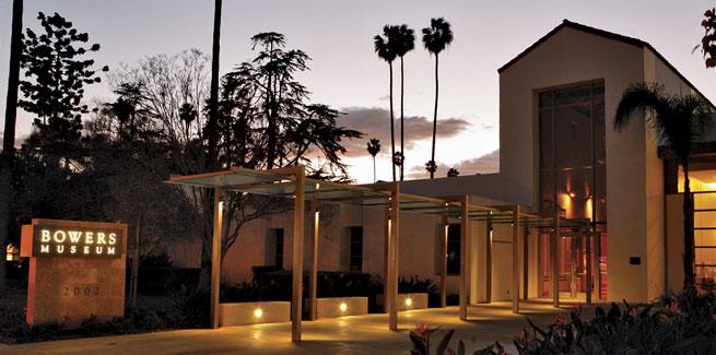 Bowers Museum in Santa Anna