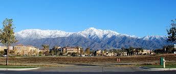 Mountains in Rancho Cucamonga