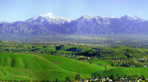 Mountains in Chino Hills