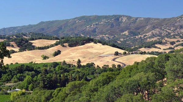 Hills in Solano County