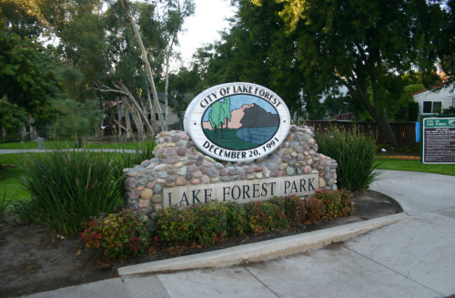 Parks in Lake Forest