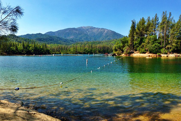 Lakes in Redding