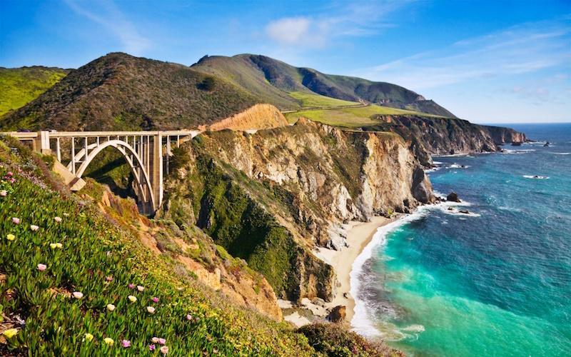 Bixby Creek Bridge in Monterey County
