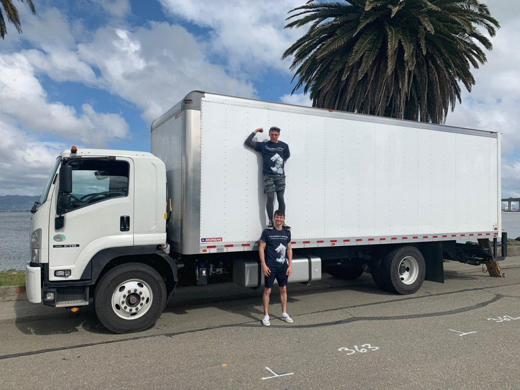 Strong California movers