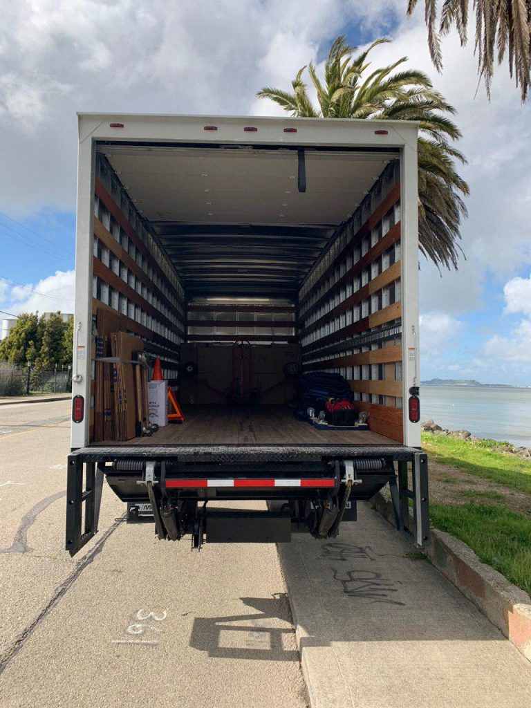 Truck for moving