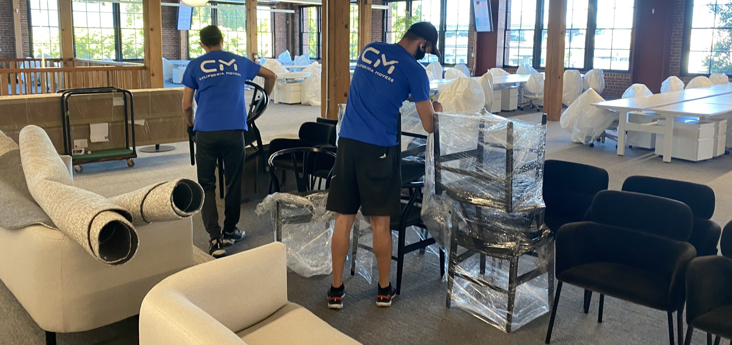 Office Moving by California Movers